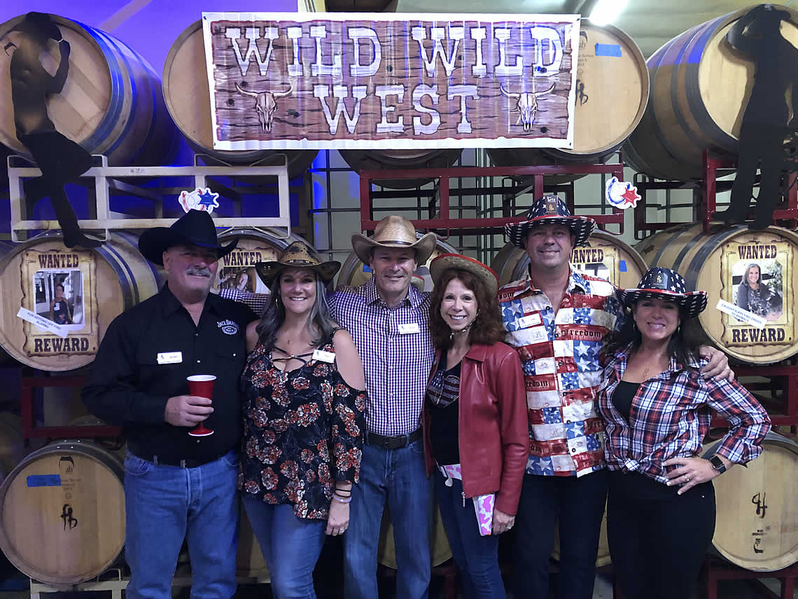 Four Brix Winery Wild West Party